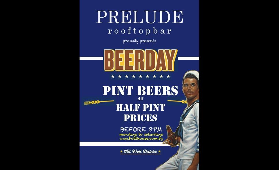 Beerday, Boathouse, Singapore
