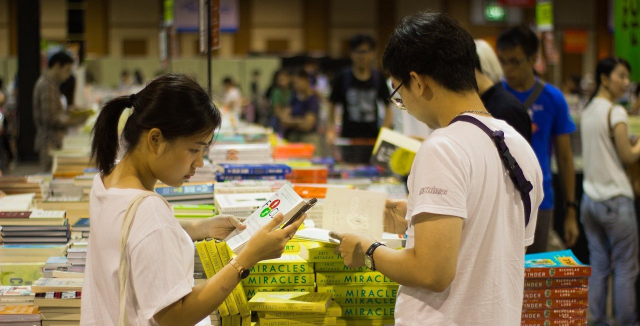 The Big Bad Wolf Book Sale is back.