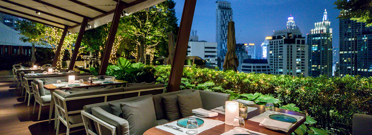 Enough sky-high dining to make you dizzy, from innovative Thai at Taan to French staples at the Waldorf.