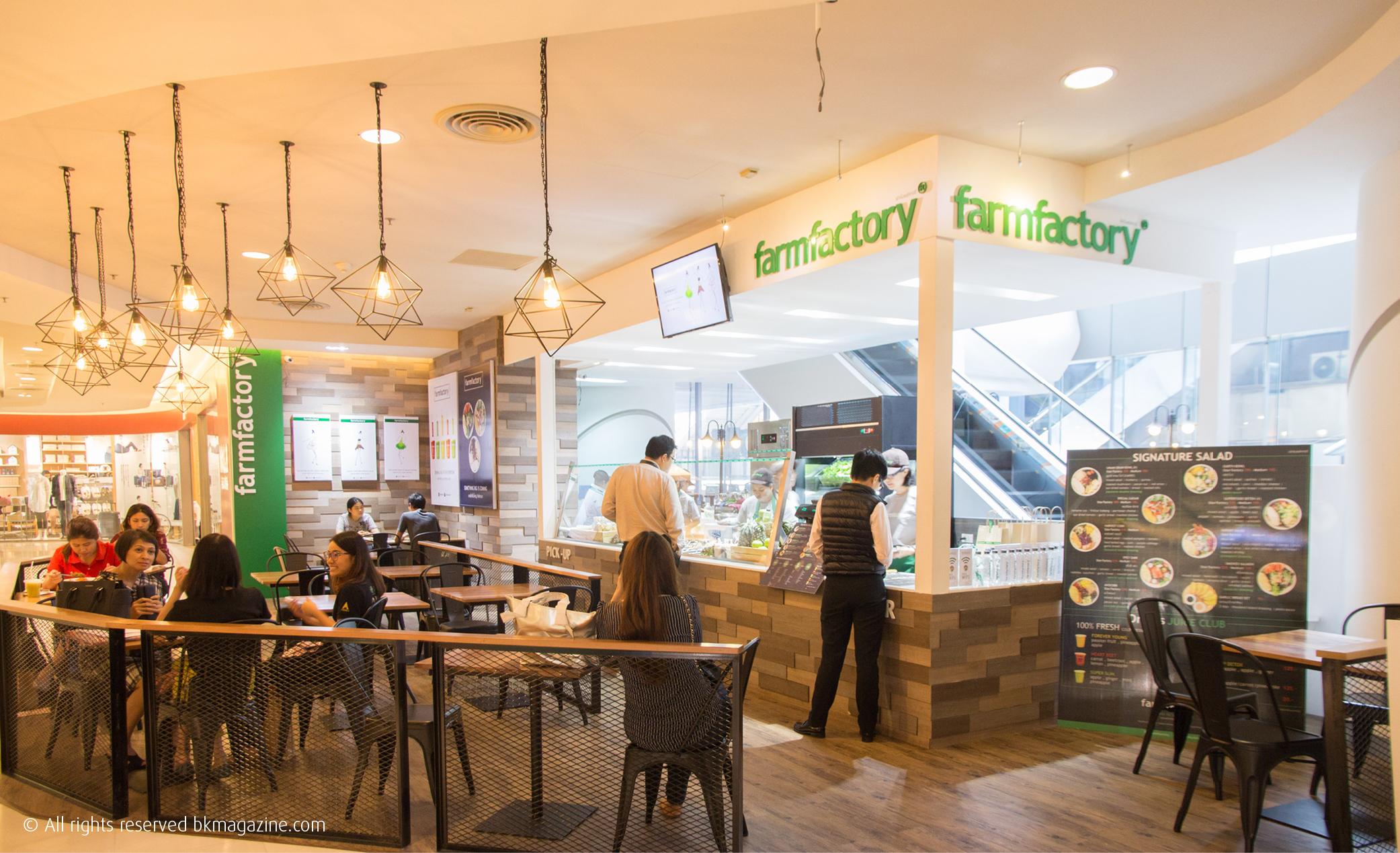 Farmfactory Silom Bangkok Salad Restaurant Bk