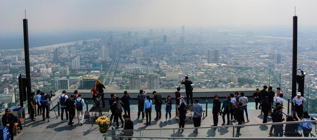 Thailand's highest observation deck is now open