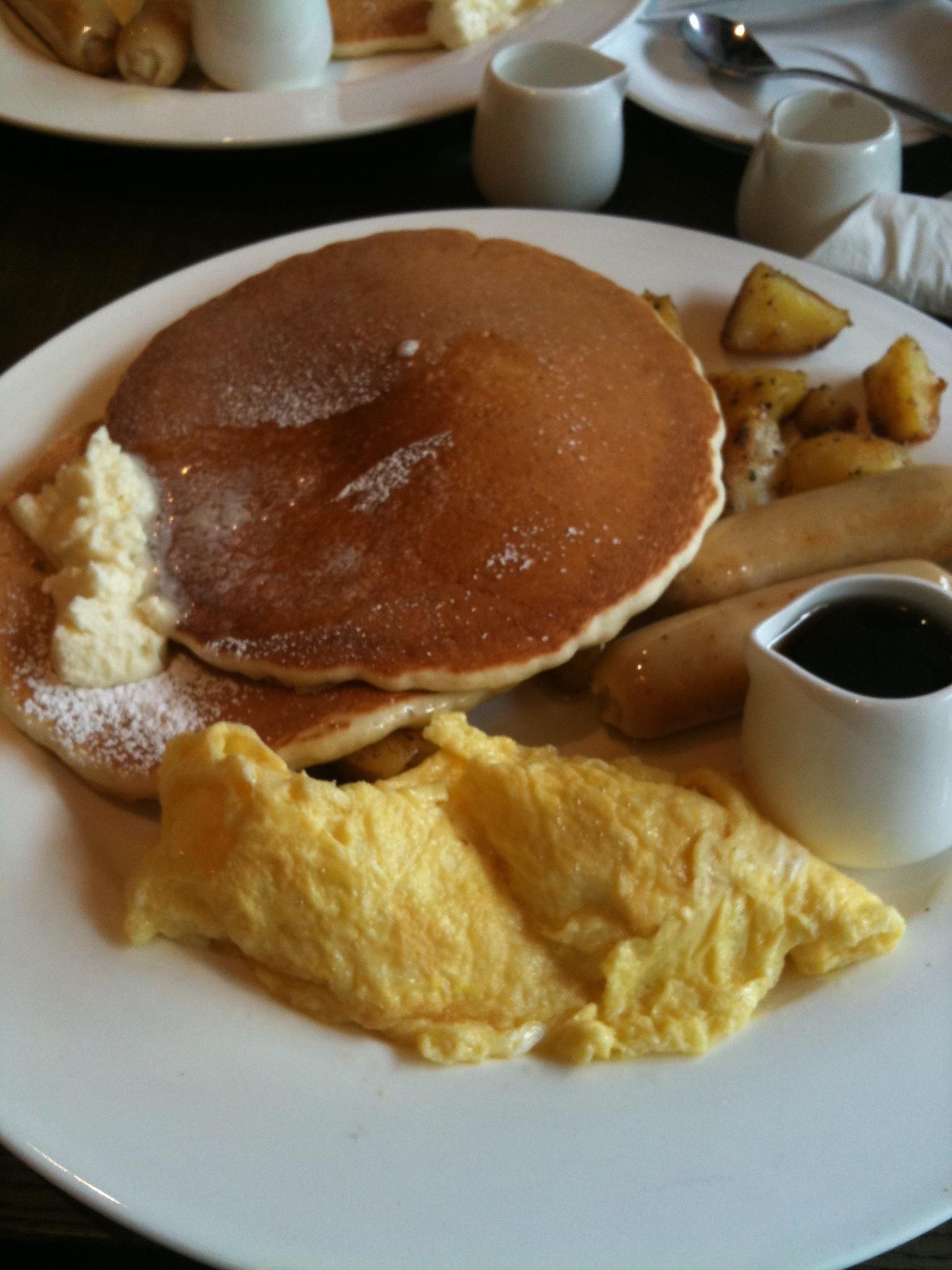 Mr Pancake House's pancakes
