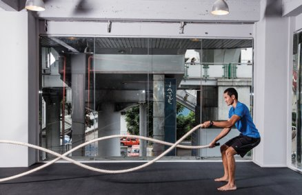 Suspension training at New Moves