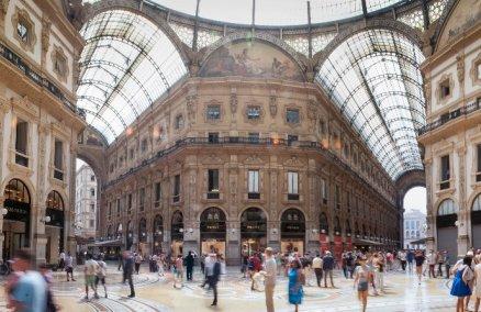Galleria Vittorio Emanuele II, Milan. Credit: Mike Beales/Flickr