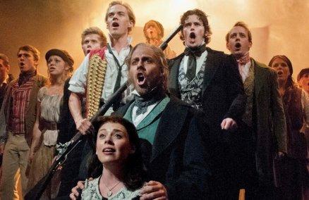 Les Misérables at the Queens Theatre, London