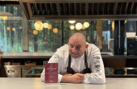 Image: Chef Arnaud Dunand Sauthier