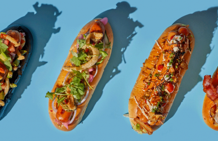 Image: Hot dogs at Craft