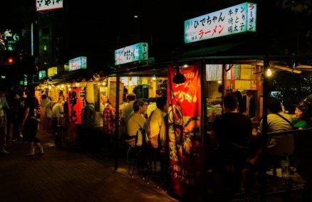 Nakasu Yatai Stalls, Fukuoka. Credit: Yoshikazu Takada / Flickr