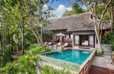 Beachfront Pool Villas at Kamalaya Koh Samui