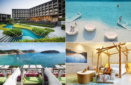 Clockwise: Marriott Hua Hin, Veranda Pattaya, The Nai Harn, So Sofitel Hua Hin