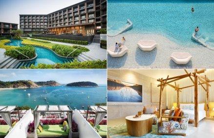 Clockwise: Marriott Hua Hin, Veranda Pattaya, The Nai Harn, So Sofitel Hua Hin
