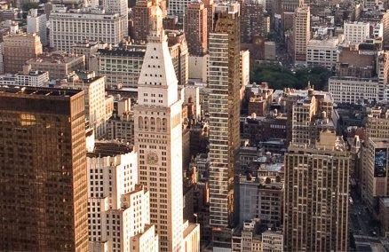 New York skyline. Credit: Dave Lindblom/Wikipedia