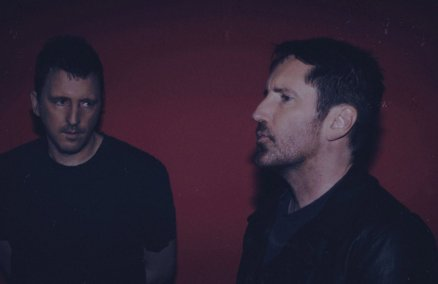 Trent Reznor (right)