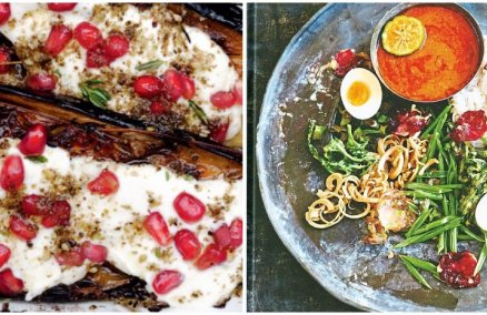 """Plenty"" by Yotam Ottolenghi / ""Bangkok: Recipes and Stories From the Heart of Thailand"" by Leela Punyaratabandhu"