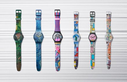 Image: Swatch x MoMA Museum Series