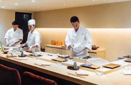 Sushi Masato's dining room