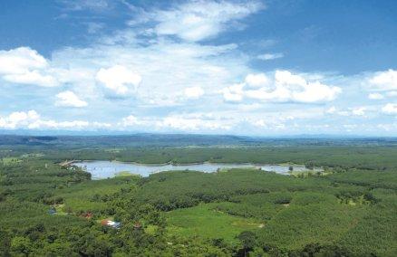 View from Wat Phu Tok