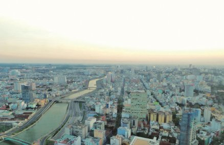 A view from Saigon Skydeck