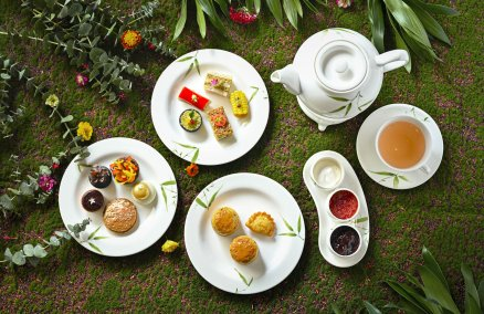Image: Vegan and gluten-free afternoon tea / courtesy Mandarin Oriental