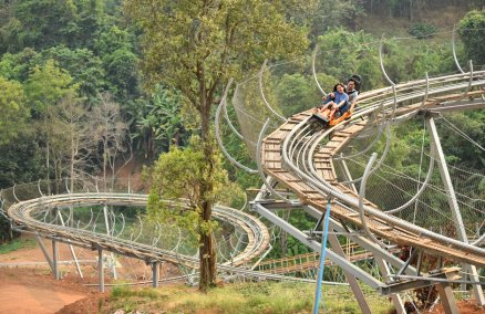 Credit: Pongyang Zipline & Jungle Coaster