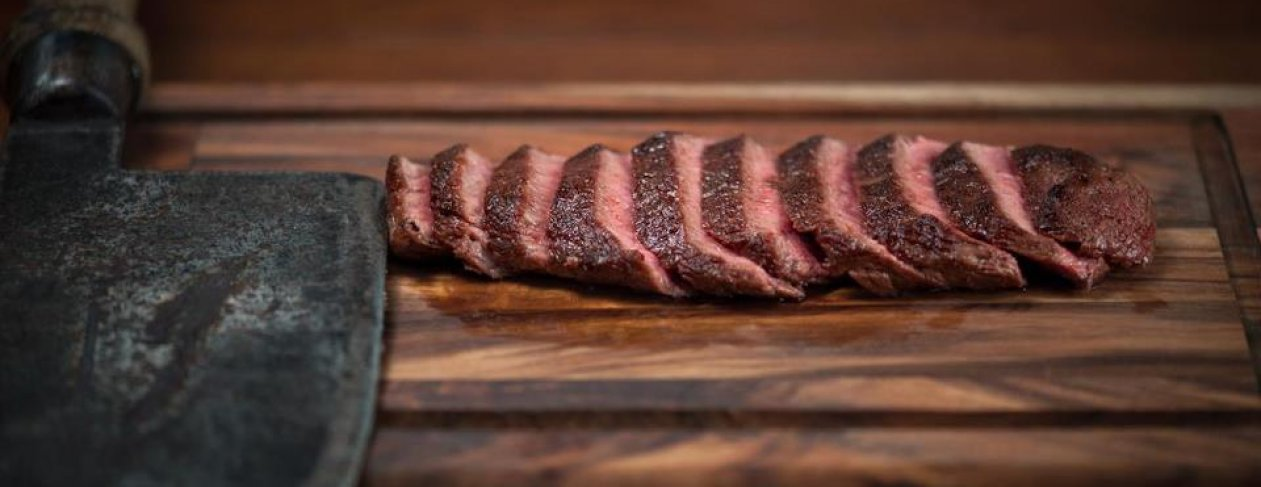 Flat Iron Steak. Credit: www.fb.com/FlatIronSteak