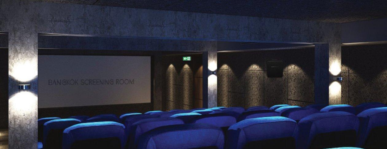 Image: Lights off at the Bangkok Screening Room
