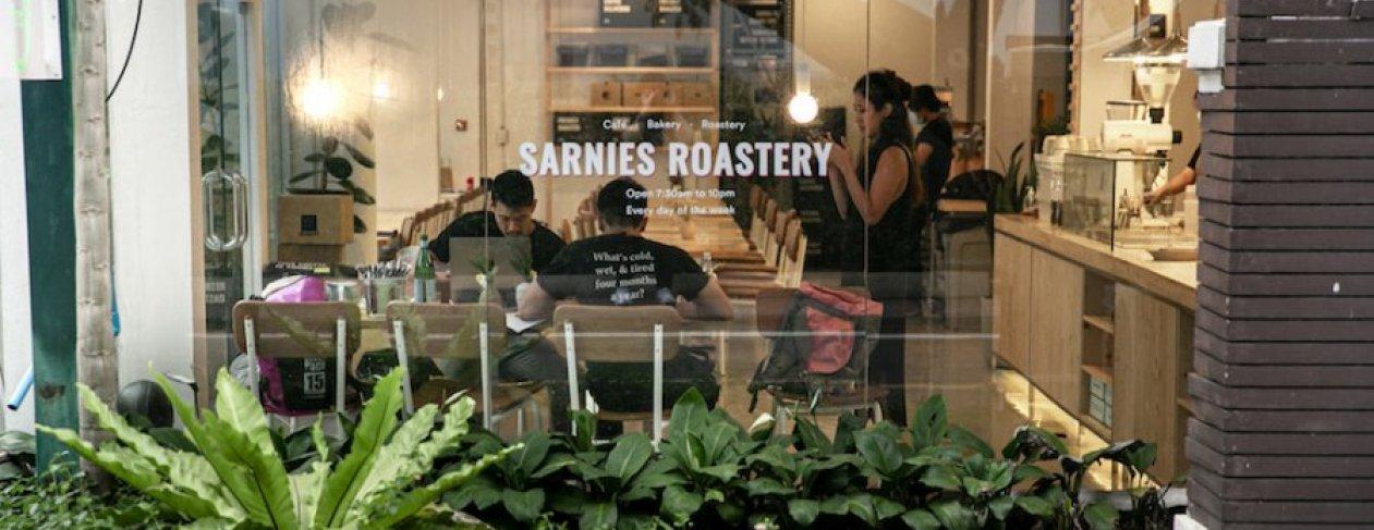 Image: Sarnies Roastery
