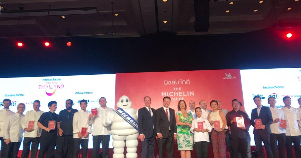 Bangkoks First Michelin Star Restaurants Have Been