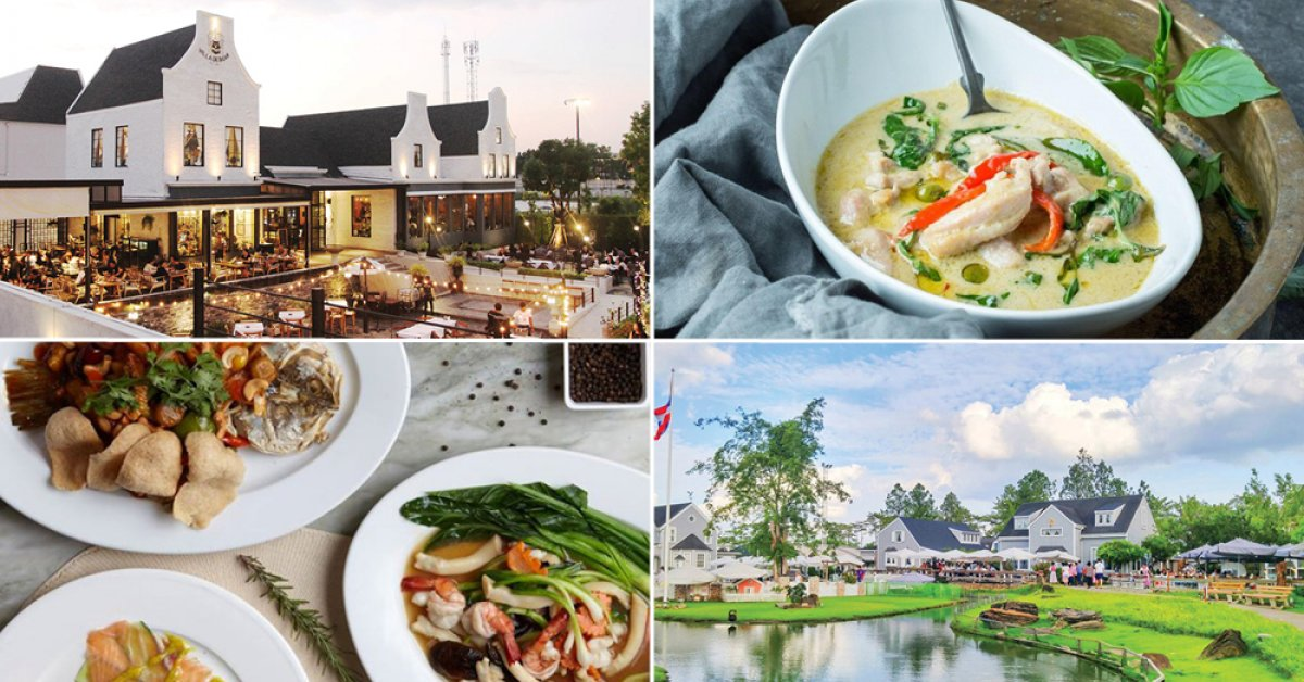 4 chill, local restaurants with alfresco settings