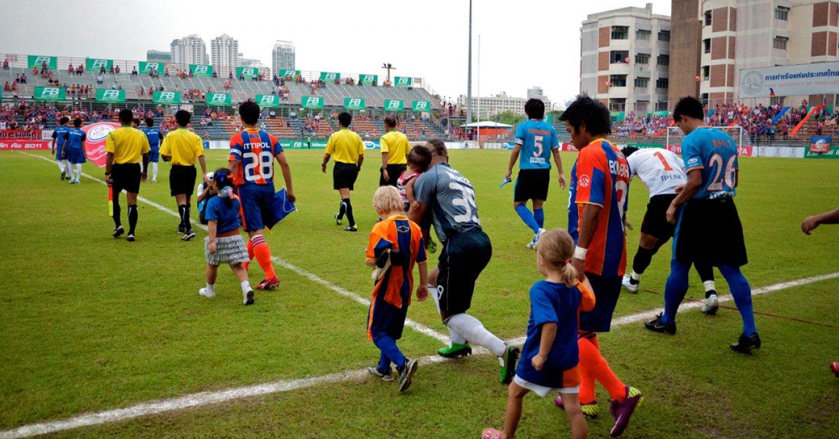 Bangkok's Thai Premier League stadiums undergo a
