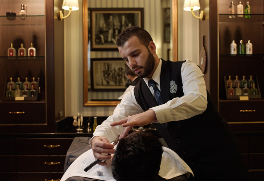 Bangkoks Top Gentlemens Barbers Put To The Test Bk Magazine Online