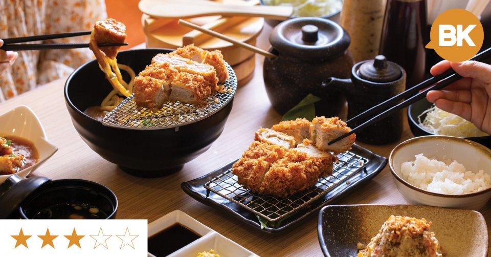 "[REVIEW] Tokyo-born ""mille-feuille"" tonkatsu specialist"