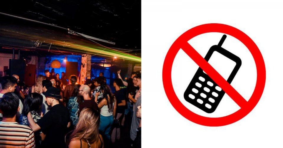 This Bangkok nightclub is banning phones on the dance floor