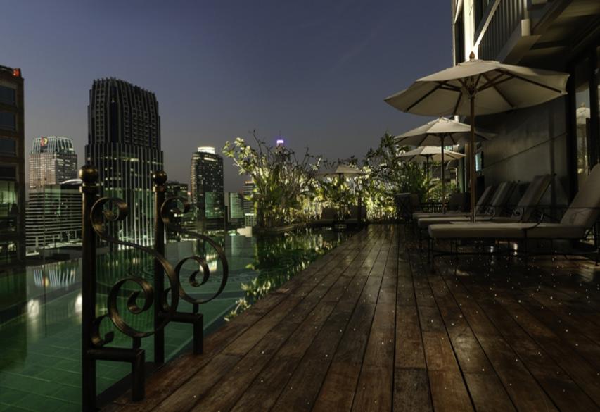 13 of bangkok s most stunning hotel pools bk magazine online for Stunning hotels