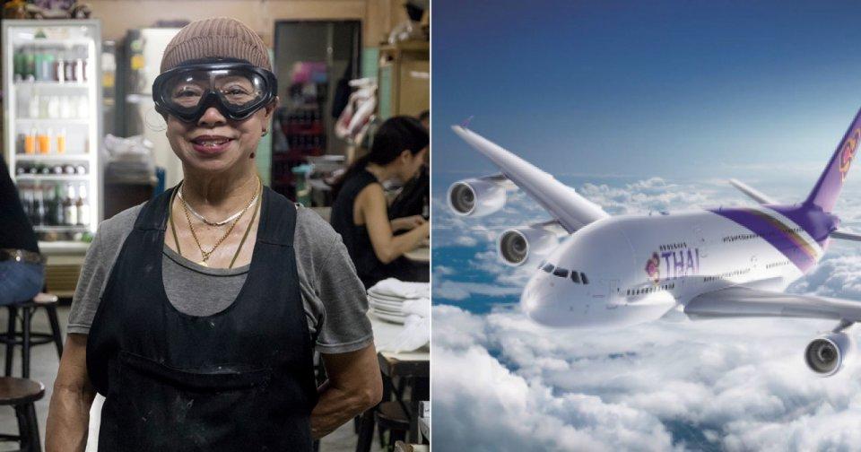 Jay Fai now cooks for first class Thai Airways passengers