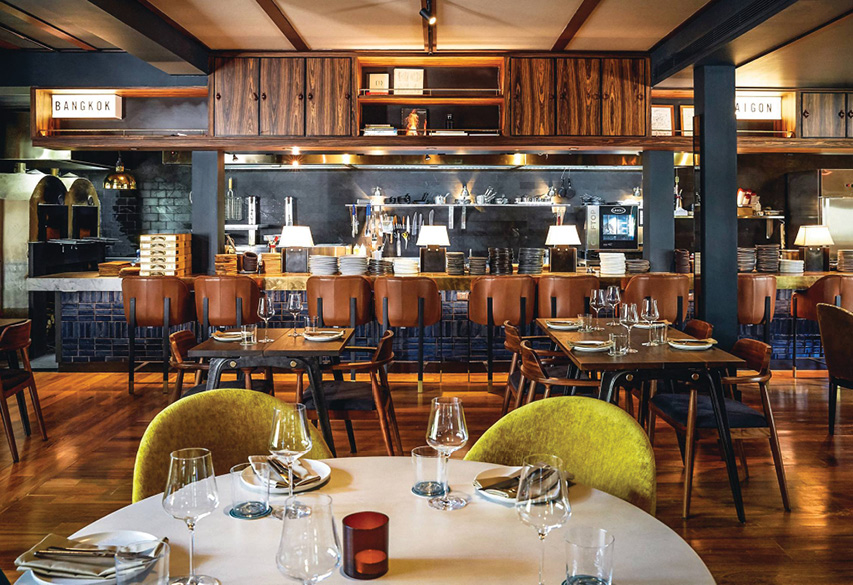 Quince's chic new venue takes a wood roasting and barbecuing focus