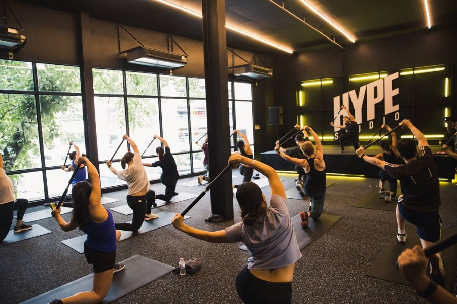 Asoke's private gym will get you hyped for a fun workout
