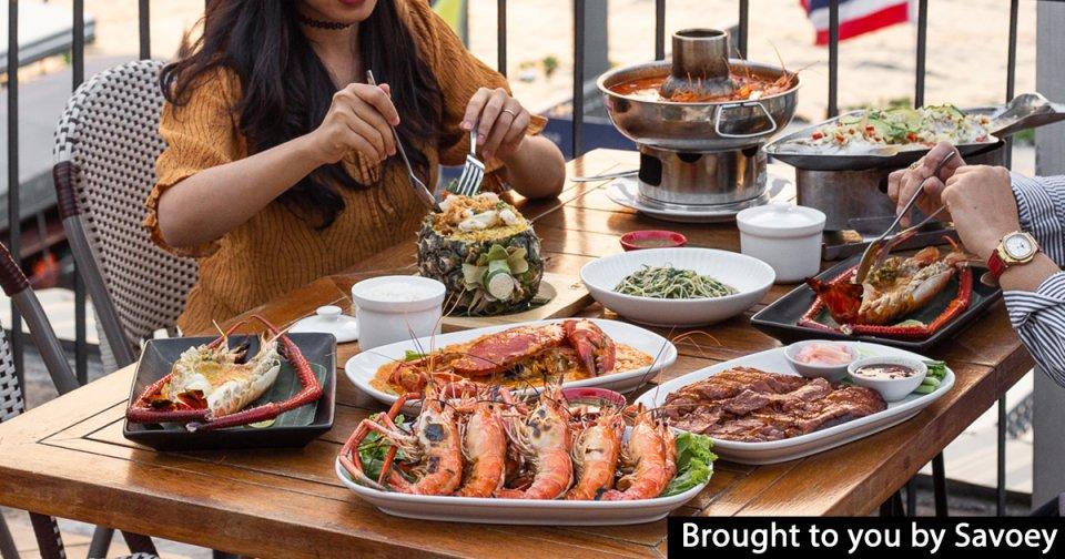 This riverside Thai restaurant serves some of the biggest river prawns you'll find in Bangkok