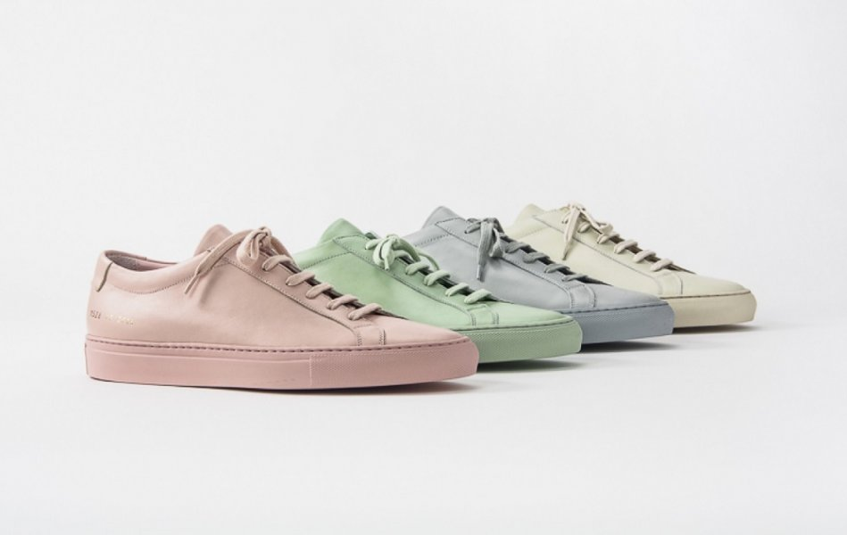 6e12e9f6db The much-hyped sneaker brand released its spring/summer 2016 collection  which sees its original Achilles and Achilles Velcro strap leather sneakers  in faded ...